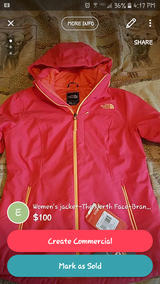 The North Face, brand new, M, jacket! in Great Lakes, Illinois