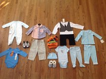 New with tags BABY BOY CLOTHES LOT FROM 6 TILL 12 MONTHS in Palatine, Illinois