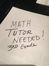Math Tutor Needed in Lockport, Illinois