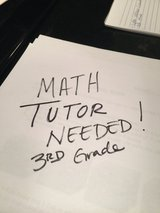 Math Tutor Needed - Cathedral Area Joliet in Chicago, Illinois