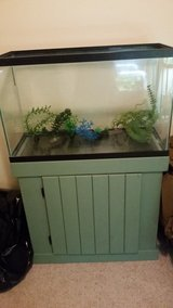 30g Fish tank w/ stand in Oceanside, California