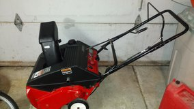 MTD SNOW BLOWER THROWER YARD MACHINES 4.5 HP 21'' ELECTRIC START 2 CYCLE USED in Orland Park, Illinois