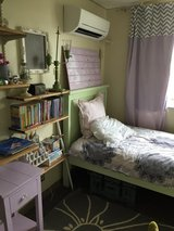 Girls bedroom furniture set w/mattress & bedding in Okinawa, Japan