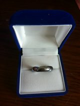 Mens Stainless Steel Silver Ring in Okinawa, Japan
