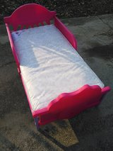 Toddler bed with mattress like new in Fort Benning, Georgia