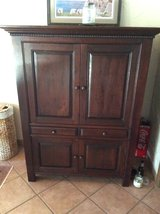 Teak (solid) Cabinet (Reduced) in Ramstein, Germany