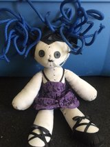 Gothic doll, blue hair in Fort Rucker, Alabama