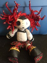 Gothic doll, red hair, flame shoes in Fort Rucker, Alabama