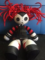 Gothic doll, red hair, striped sleeves in Fort Rucker, Alabama