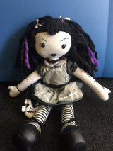 Little gothic doll, black/purple hair in Fort Rucker, Alabama