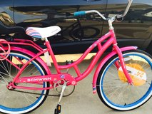 """24"""" Schwinn lady Cruiser with lock and extra seat in Fort Rucker, Alabama"""
