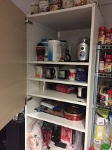 IKEA Cupboard with top shelves and bottom drawers excellent condition in Ramstein, Germany