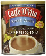 Caffe D'Vita French Vanilla Cappuccino Mix 16 OZ 1/2018 in Fort Lee, Virginia