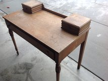 Desk used in Vista, California