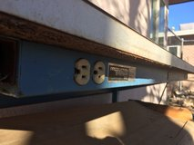 Steal project table with outlets in 29 Palms, California