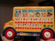Learning sound school bus in Fort Sam Houston, Texas