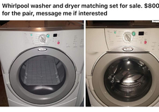 Whirlpool front loading washer and dryer in Elgin, Illinois