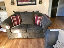 Microfiber Couch and Love Seat in Fairfield, California