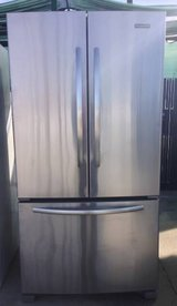 Like New KitchenAid Stainless Steel Frenchdoor Fridge in Temecula, California