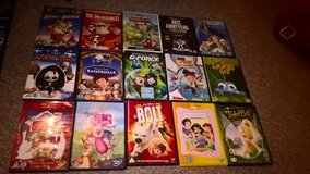 disney dvds £2 each uk spec in Lakenheath, UK