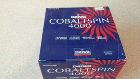 Daiwa Cobaltspin 4000 reel in Camp Lejeune, North Carolina