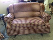Plaid Love Seat (Rocker) in Colorado Springs, Colorado