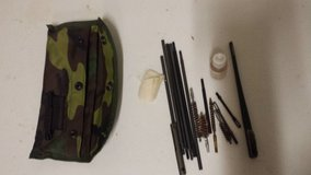 Woodland Camo weapon cleaning kit in Fort Leonard Wood, Missouri
