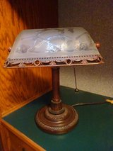 Vintage desk lamp in Glendale Heights, Illinois