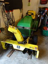 John Deere Lawn Mower with 5 attachments in Bartlett, Illinois