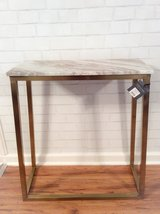 Marble Console Table BRAND NEW in Fort Campbell, Kentucky
