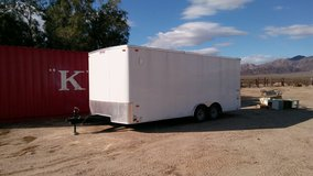 2015 Pace Outback, tandem axle, cargo trailer 20'X8.5' in 29 Palms, California