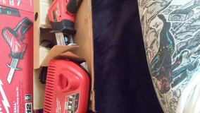 milwaukee hackzall 412 cordless saw kit in Yucca Valley, California