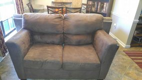 Used Brown Love Seat in Hinesville, Georgia