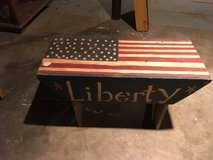 Liberty bench in Fort Campbell, Kentucky