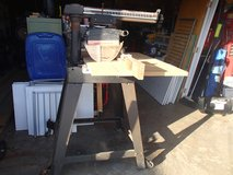 "10 "" Radial arm saw in Fort Benning, Georgia"
