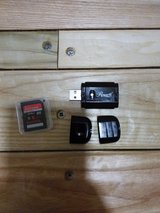 8GB SD Card portable SD card reader fits into USB port in Okinawa, Japan