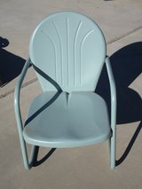 Vintage Sage Green Lawn Chair in Yucca Valley, California