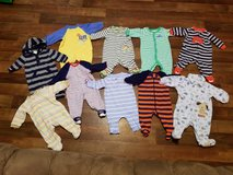 Baby boy clothes size 0 to 3 months in Barstow, California
