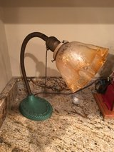 Antique Flexible Neck Desk/Bankers Lamp in Sandwich, Illinois