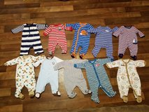 Baby boy clothes size 0 / 3 months in Barstow, California