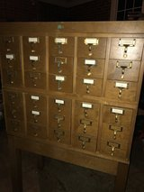 Library Card Cabinet in Perry, Georgia