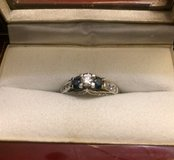 Engagement ring in Camp Lejeune, North Carolina