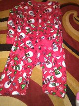 Size 7/8 winter pjs in Camp Lejeune, North Carolina