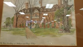 William and Mary College Oil Painting in Warner Robins, Georgia