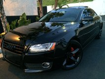 Audi A5 Turbo Murdered Out in Fort Irwin, California
