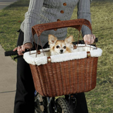 Wicker Dog Basket for Your Bike in San Diego, California