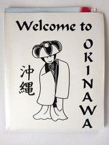 Old Welcome to Okinawa packet, 90's in Okinawa, Japan