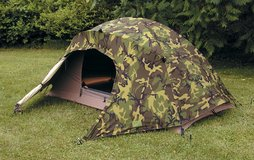 USMC 2 Man Tactical Combat Tent & Rain Fly & Poles Diamond Brand in Oceanside, California