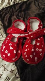 new baby girl shoes in size 24mo. in Ramstein, Germany