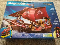 Playmobil Pirate Boat & Lookout w/beacon in Ramstein, Germany